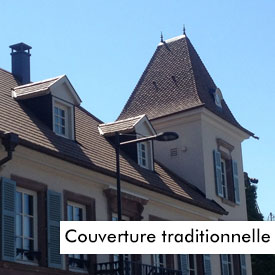 Couverture tuile Traditionnelle
